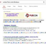 surface Paris contre Bordeaux - Recherche Google