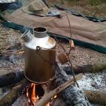 camping vie en plein air