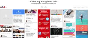 Tableau community management sur Pinterest